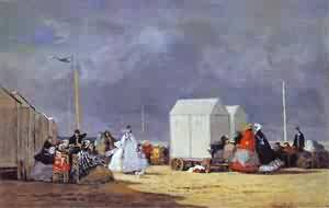 Approaching Storm 1864 | Eugene Louis Boudin | Oil Painting