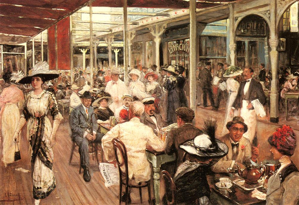 Mar Del Plata | Eugenio Alvarez Dumont | Oil Painting