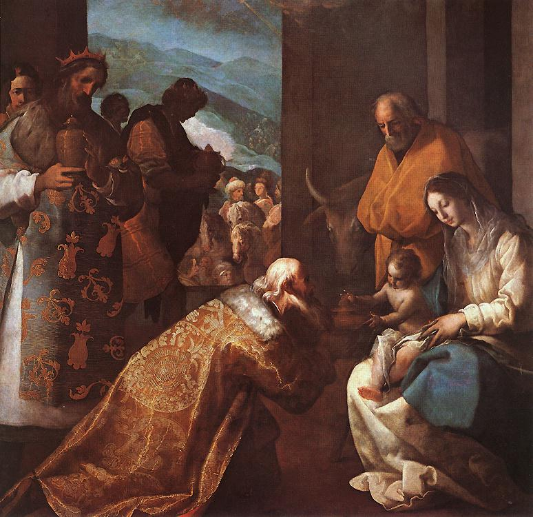 The Adoration Of The Magi 1620s | Eugenio Cajes | Oil Painting