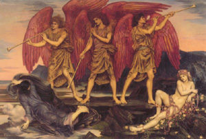Aurora Triumphans 1886   Evelyn De Morgan   Oil Painting