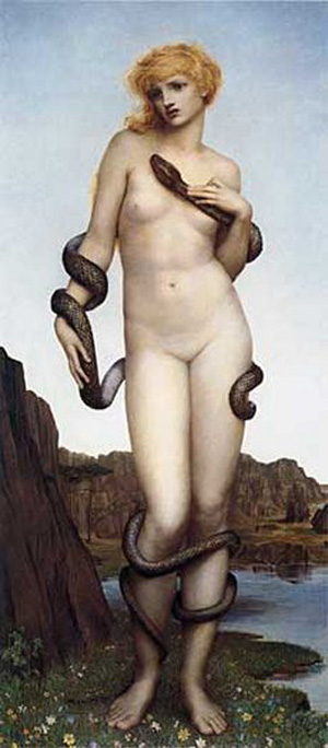 Cadmus And Harmonia 1877   Evelyn De Morgan   Oil Painting