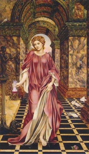 Medea 1889   Evelyn De Morgan   Oil Painting