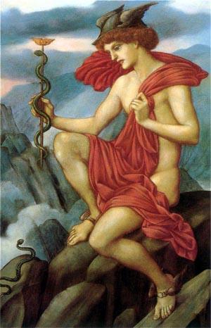 Mercury   Evelyn De Morgan   Oil Painting