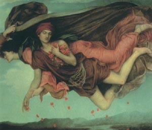 Night And Sleep 1878   Evelyn De Morgan   Oil Painting