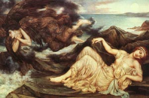 Port After Stormy Seas Spensers Faerie Queene 1905   Evelyn De Morgan   Oil Painting