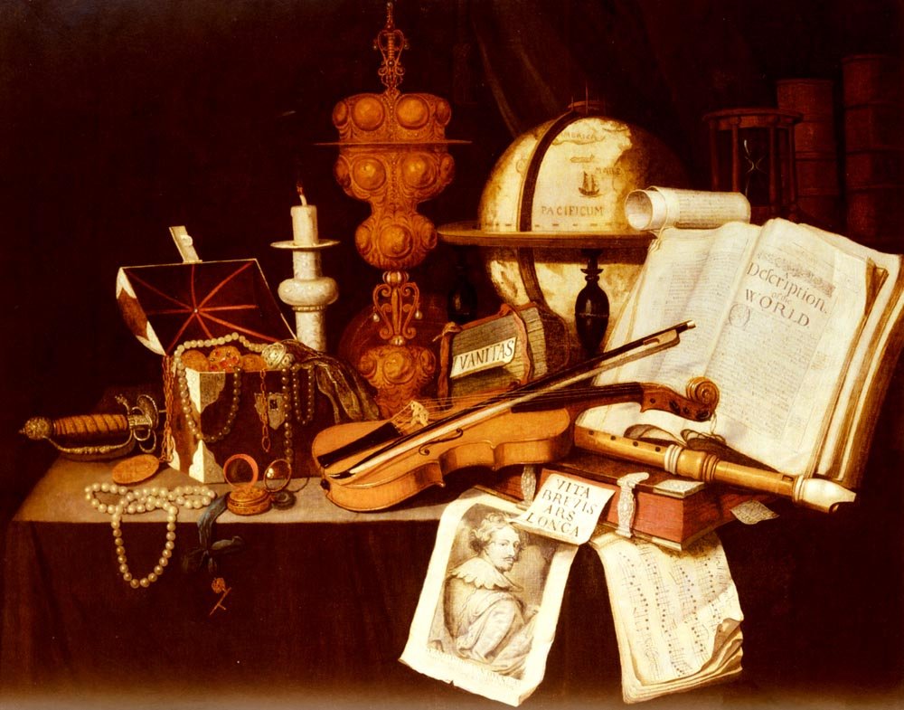 Vanitas Still Life | Evert Collier | Oil Painting