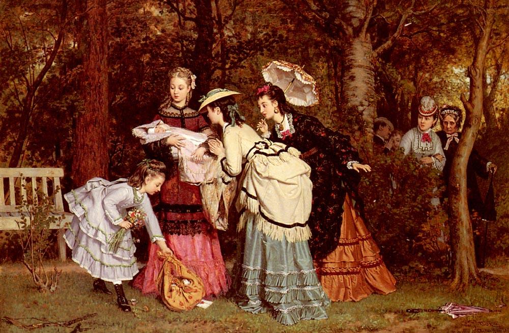 The Foundling | Evert Jan Boks | Oil Painting
