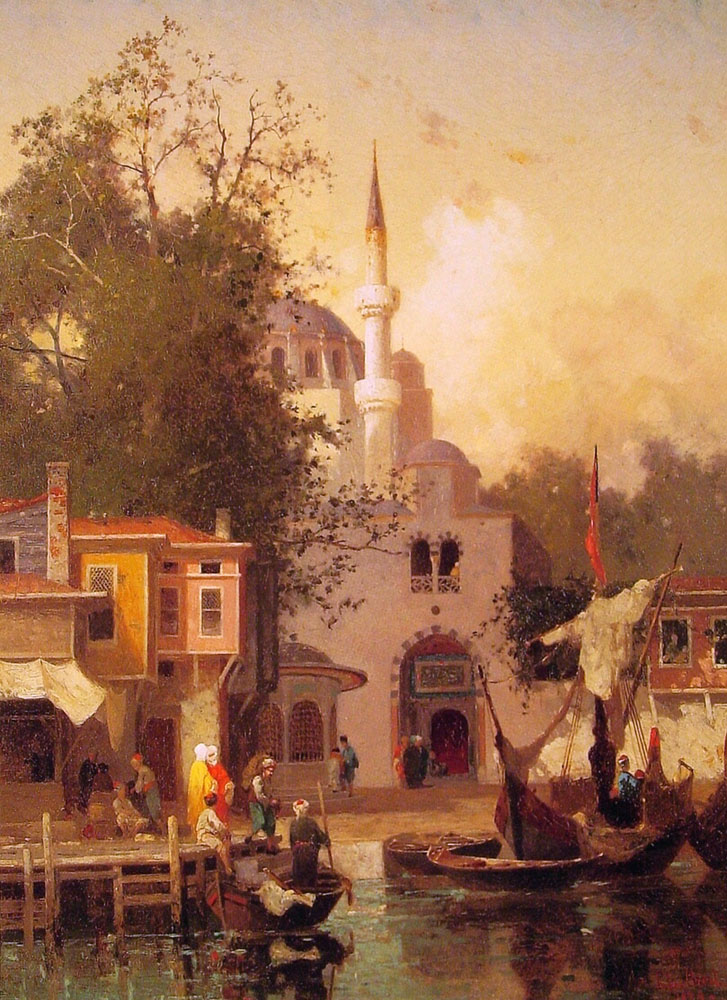 Constantinople | Fabius Germain Brest | Oil Painting