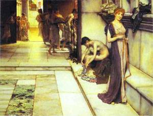 An Apodyterium | Sir Lawrence Alma Tadema | Oil Painting