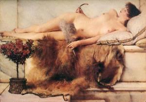 In The Tepidarium | Sir Lawrence Alma Tadema | Oil Painting