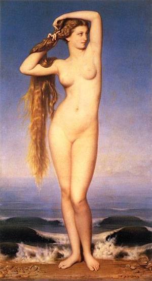 La Naissance De Venus | Amaury-Duval Eugene-Emmanuel | Oil Painting