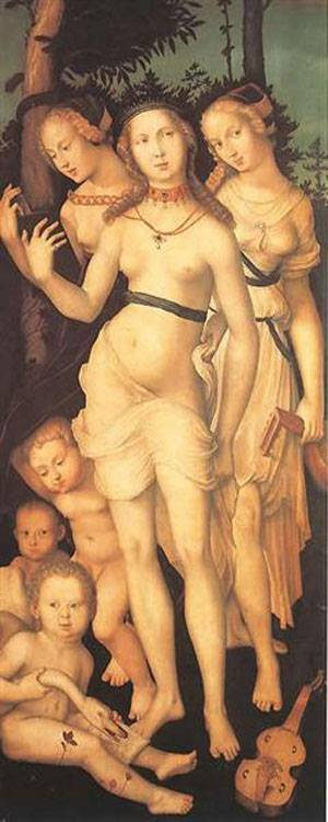The Three Graces | Grien Hans Baldung | Oil Painting