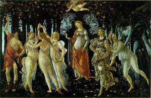 Primavera | Botticelli Sandro | Oil Painting