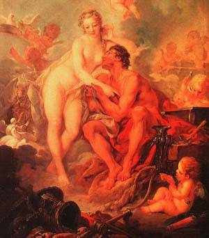 Vulcan | Boucher Francois | Oil Painting
