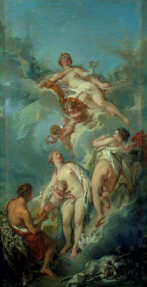 Judgement Of Paris | Boucher Francois | Oil Painting