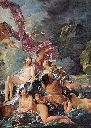 The Triumph Of Venus (Detail) | Boucher Francois | Oil Painting