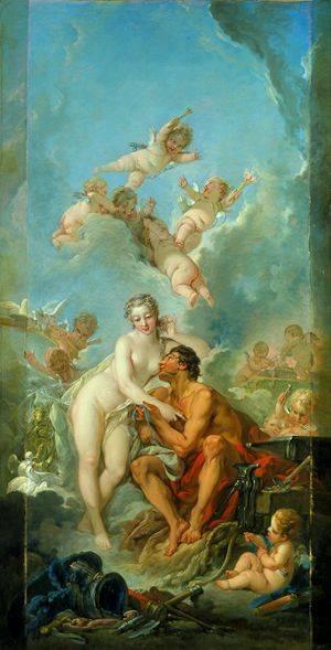 Venus And Mars | Boucher Francois | Oil Painting