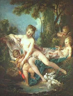 Venus Consoling Love | Boucher Francois | Oil Painting