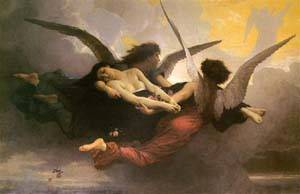 A Soul Brought To Heaven   William Bouguereau   Oil Painting
