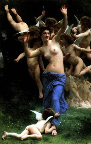Invading | William Bouguereau | Oil Painting