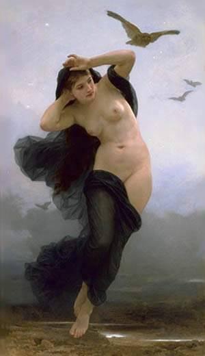 La Nuit | William Bouguereau | Oil Painting