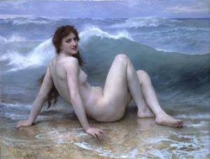 La Vague | William Bouguereau | Oil Painting