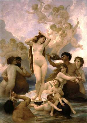 Naissance De Venus | William Bouguereau | Oil Painting