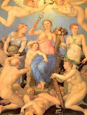 Allegory Of Happiness | Bronzino Agnolo | Oil Painting