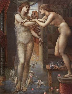 Pygmalion And The Image - The Godhead Fires | Sir Edward Coley Burne Jones | Oil Painting