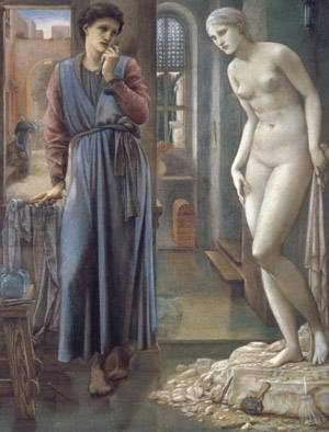 Pygmalion And The Image - The Hand Refrains | Sir Edward Coley Burne Jones | Oil Painting