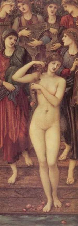 The Bath Of Venus | Sir Edward Coley Burne Jones | Oil Painting