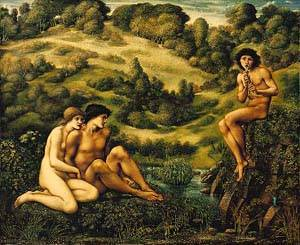 The Garden Of Pan | Sir Edward Coley Burne Jones | Oil Painting