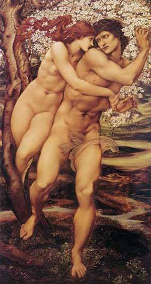 The Tree Of Forgiveness | Sir Edward Coley Burne Jones | Oil Painting