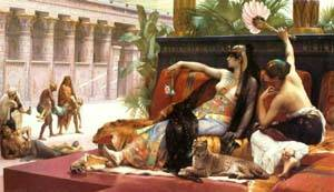 Cleopatra Testing Poisons On Condemned Prisoners | Alexandre Cabanel | Oil Painting