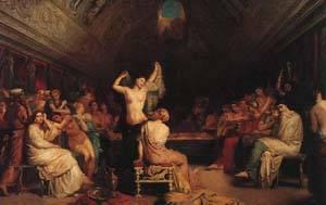 Tepidarium | Chasseriau Theodore | Oil Painting