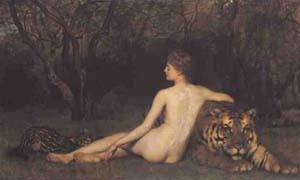 Circe | Collier Hon John | Oil Painting