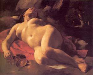 La Baccante | Gustave Courbet | Oil Painting