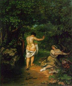 The Bathers | Gustave Courbet | Oil Painting