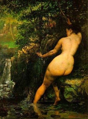 The Source1 | Gustave Courbet | Oil Painting