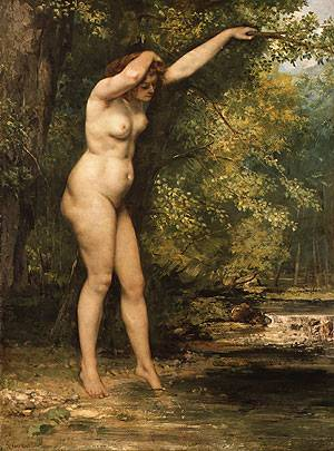 The Young Bather | Gustave Courbet | Oil Painting