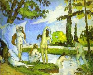 Six Women Bathing | Paul Cezanne | Oil Painting