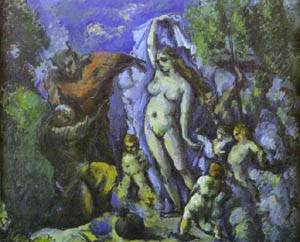 Temptation Of St Anthony | Paul Cezanne | Oil Painting