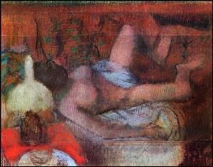 Reclining Nude | Edgar Degas | Oil Painting