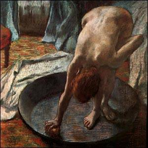 The Tub | Edgar Degas | Oil Painting