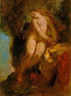 Andromeda | Eugene Delacroix | Oil Painting