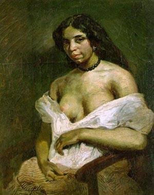 Apasia | Eugene Delacroix | Oil Painting