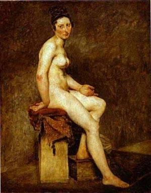 Mlle Rose   Eugene Delacroix   Oil Painting
