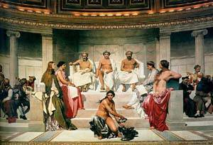 Hemicycle Of The ecole Des Beaux Arts | Delaroche Paul | Oil Painting