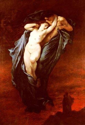 Paolo And Francesca Da Rimini | Gustave Dore | Oil Painting