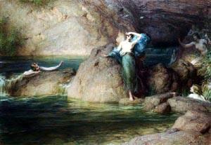 Halcyone   Herbert Draper   Oil Painting